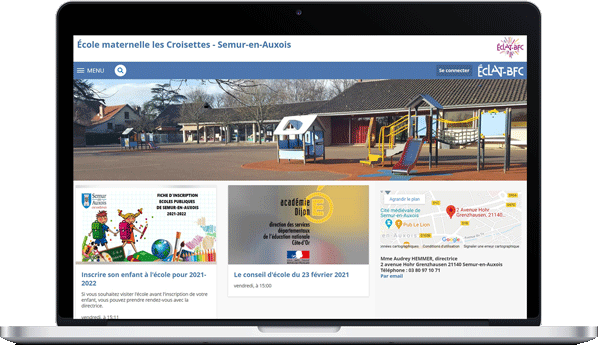 page d'accueil Skolengo primaire
